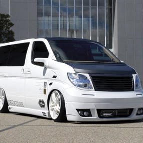 【Nissan Elgrand E51 (Late Model)】Spread E51後期 エアロ3点セット