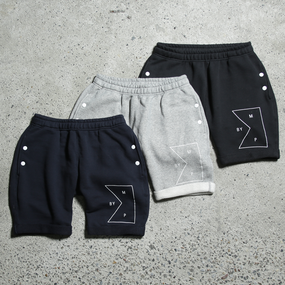 【Sale Item】BYM&P Flag Sweat Shorts