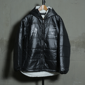 "【Clearance Sale】Hooded Jacket【中綿入り】""45 MILLIMETER"""
