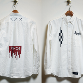 """C.WHT.C"" Oxford Shirt"