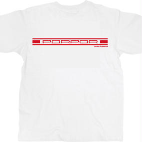 SP008 Street Prepared PORPOR logo T-shirt