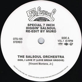 DIGGIN' SALSOUL - RE-EDIT BY MURO VOL.1
