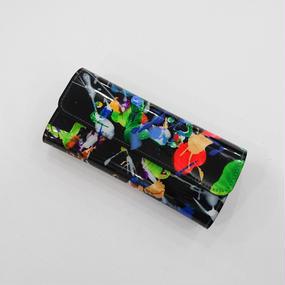 macromauro / paint black wallet long