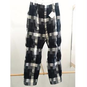 ETHOSENS / Block Check Pants / E117-707(A)(2)