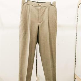 tim. / Wo/Mo gently cloth easy slacks tapered / 7103-0208A