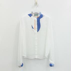 ohta / white blouse / 16ss-st-05w