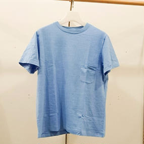 YAECA / 丸胴クルーネックTシャツ(POCKET) / 170207