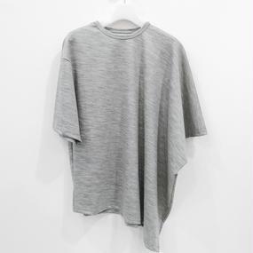 ohta / gray square T / 16aw-cs-03G