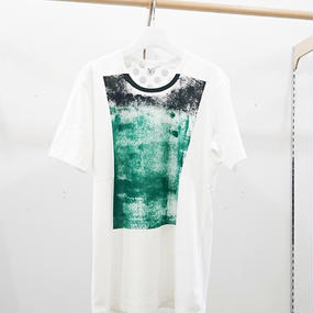 ohta / green black T / 17ss-cs-05A