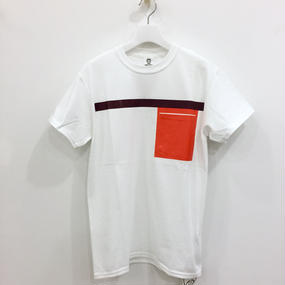 TOGA ODDS&ENDS / RUBBER POCKET TEE3 / OE61−JK003