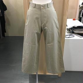 YAECA /CHINO CLOTH PANTS-WIDE / 176203