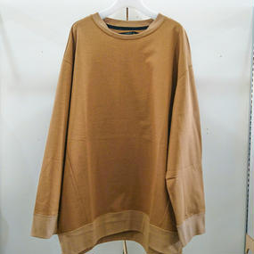 my beautiful landlet / dyed knitted fabric pullover / WM10-BT171101