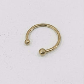 ANOTHER FEATHER / PEARL CUFF RING / 17(A)(S)