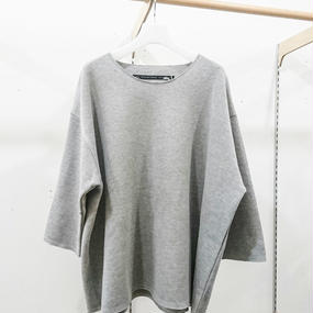 my beautiful landlet /  rib double face knit pullover / WM08-BT171081