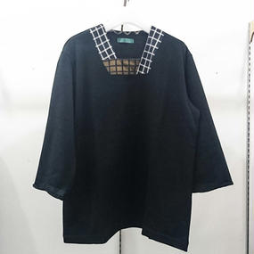 ohta / black 8 sleeve / 17ss-cs-07B