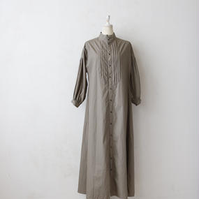 cavane キャヴァネ / Farmer pleated long dressファーマープリーツロングドレス  / ca-17046