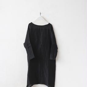 Tabrik タブリク / リネンシルクドレスLinen-silk dress / ta-17005