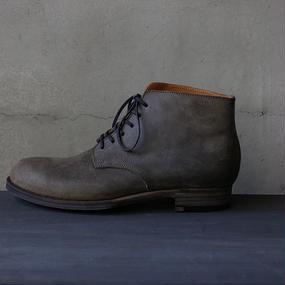 formeフォルメ/外羽根アンクルシューズBlucher short boots 6hole  / fo-17000