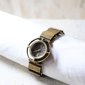 Accessories / 真鍮時計Brass watch / na-16002