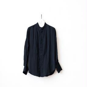 cavane キャヴァネ /  Farmer pleated shirtファーマープリーツシャツ / ca-17049