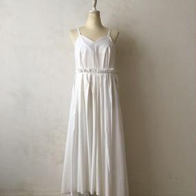 cavane キャヴァネ / Robe-blancheワンピースドレス / ca-17040