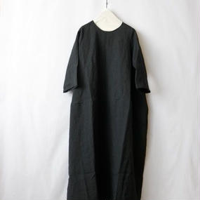 MARTAU.マルト / Back ribbon round dress / ma-16008