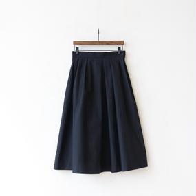 cavane キャヴァネ / Pleated tuck-skirtプリーツタックスカート / ca-17046