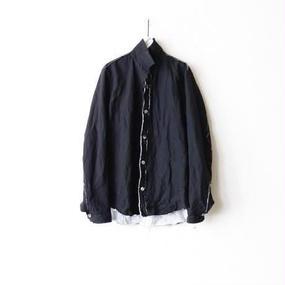 ANSNAMアンスナム /Reversible shirt blousonリバーシブルシャツブルゾン / an-16000