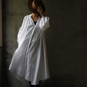 Tabrik タブリク / ローブシャツRobe-shirt / ta-17009