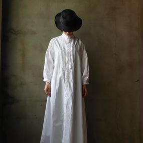 cavane キャヴァネ / Farmer pleated long dressファーマープリーツロングドレス  / ca-17045