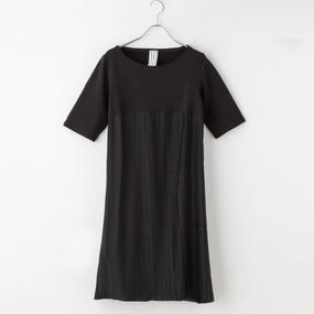 【SALE】プリーツドレス from Milano(black)