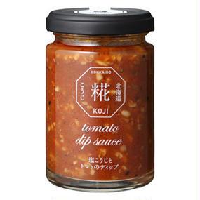 塩こうじとトマトのディップ