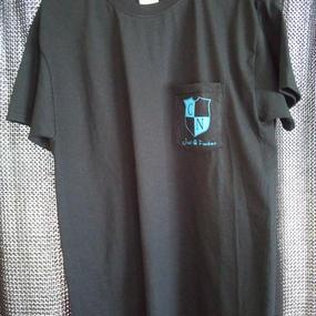 JUST A FUCKER Pocket T-shirt (BLACK)
