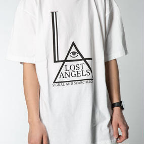 LOST ANGELS MENS TEE WHITE