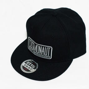 LOGO SNAPBACK CAP BLACK