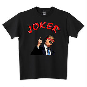 "HE is ""JOKER"" UNISEX TEE BLACK"