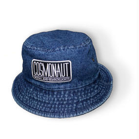 LOGO BUCKET HAT DENIM