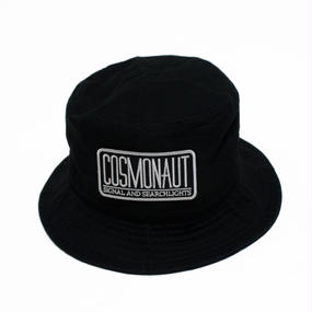 LOGO BUCKET HAT BLACK
