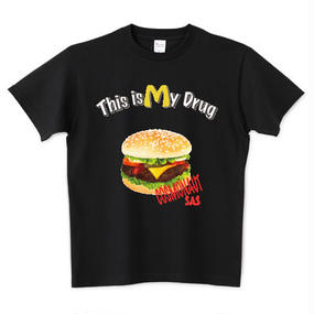THIS IS MY DRUG UNISEX TEE BLACK