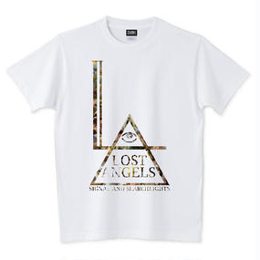 "LOST ANGELS ""Fallen"" UNISEX TEE WHITE"