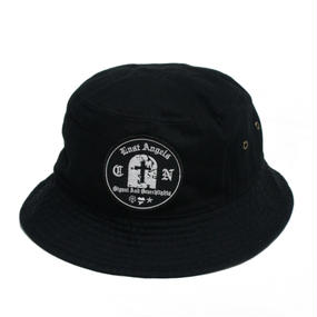GRAVESTONE BUCKET HAT BLACK