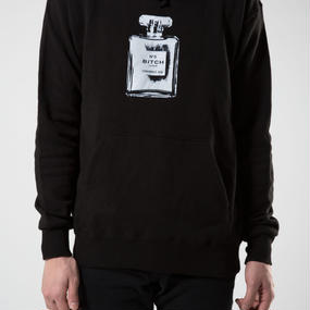 SMELL THE LIKE BITCH UNISEX HOODIE BLACK