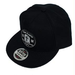 GRAVESTONE SNAPBACK CAP BLACK
