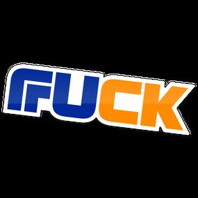 【FUCK】ステッカー