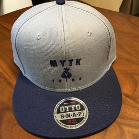 MYTK ベースボールCAP(グレー&ネイビー)