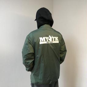 MYTK コーチジャケット(グリーン)