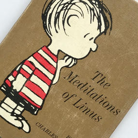 Title/ The Meditation of Linus  Author/ Charles M.Schulz