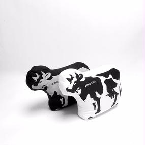 Padded Cow  (Black/White)