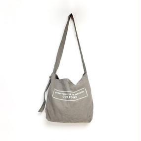 Linen Shoulder Tote  (Stitch Logo)