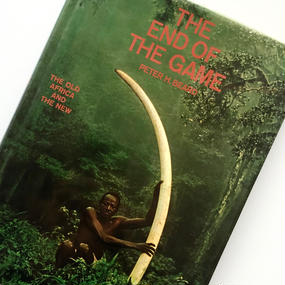 Title/ The End of The Game  Author/Peter Beard